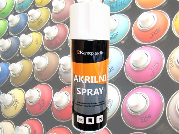 Akrilni spray Kemoplastika 400 ml