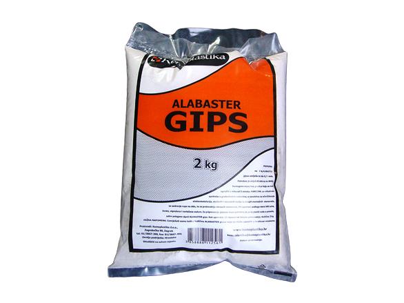 Gips alabaster 2 kg