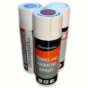 Temeljni akrilni spray Kemoplastika 400 ml