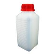 PE Boca 500 ml (četvrtasta) - boja: natur