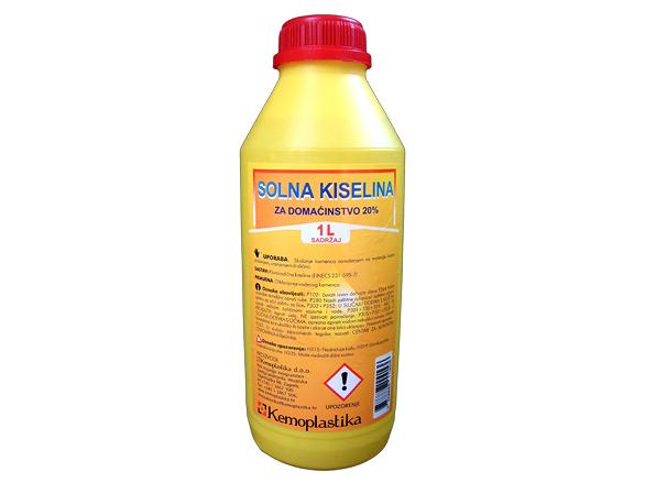 Solna kiselina 20% 1 L