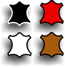 Hobby lak boja za kožu - boje (kvadrat)